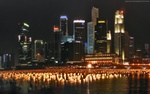 Singapore City Lights
